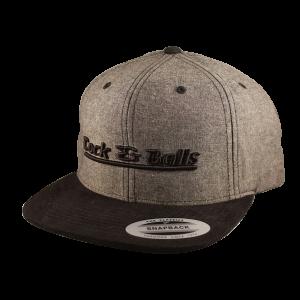 Cock & Balls - Flexfit Snapback Stave Black